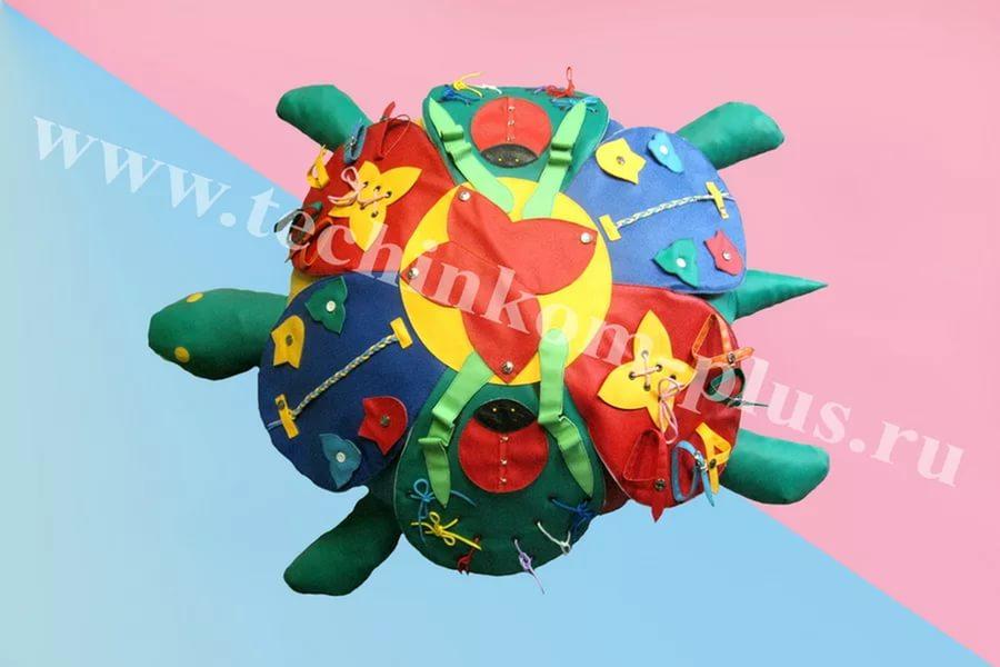 Мягкий модуль Ромашка дидактическая (1 модуль)