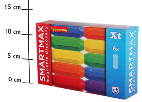 АКЦИЯ-20 Игр Конструктор магнитный Smartmax Дополнительный набор 6 коротких