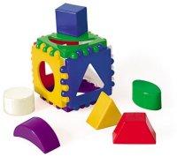 Развивающая Логический куб маленький 8х8 пласт