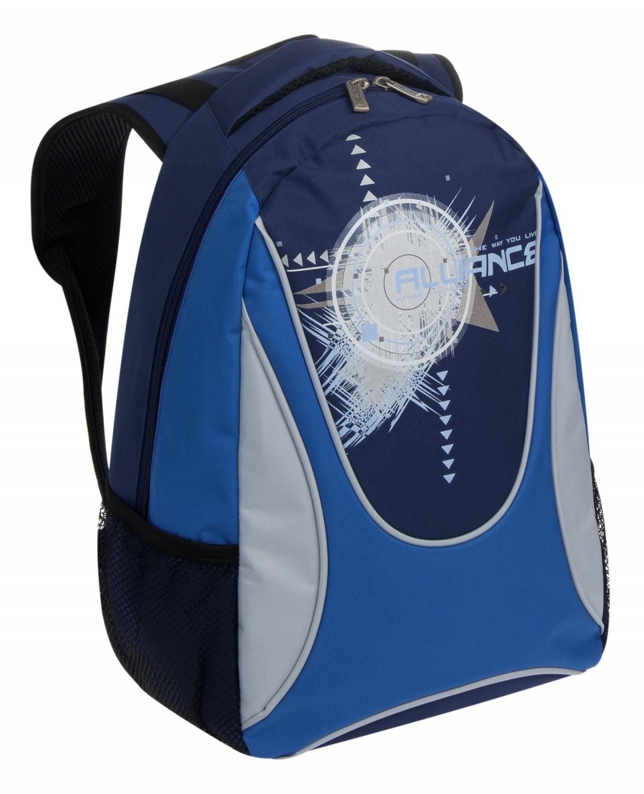 Рюкзак Alliance сине-голубой, светло-серый
