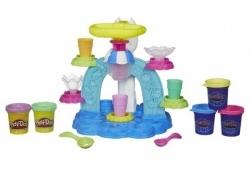 Play-Doh Фабрика Мороженого + пластилин 5шт. 280гр.МАХ СКИДКА 15% РОЗ