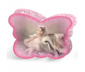 Музыкальная шкатулка с блокнотом Lisa Jane фигурн-бабочка малыш