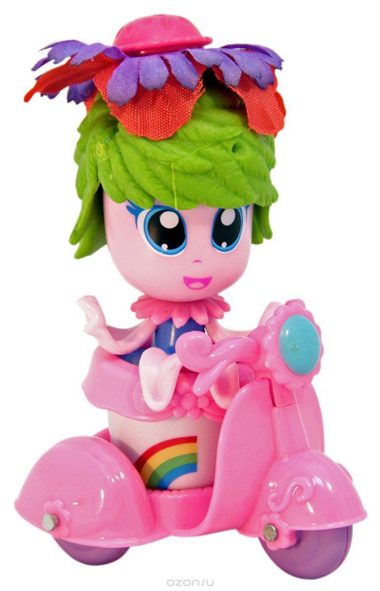 набор Кукла-цветочек Daisy Flowers 9см., с аксесс. и мопедом