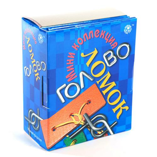Игра АКЦИЯ-20 Игр Мини коллекция головоломок + книжка