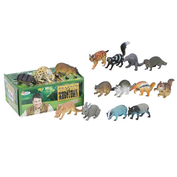 из ПВХ Лесные животные 10-17,5 см. в ассортим.