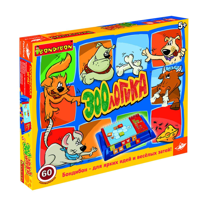 Настольная Зоологика: 60 головоломок