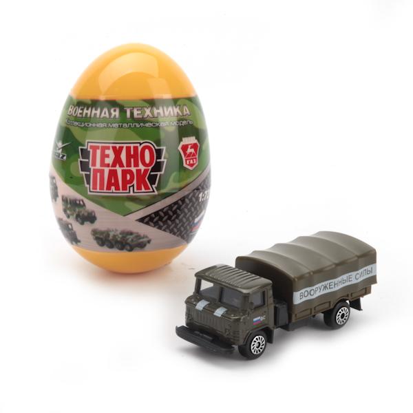АКЦИЯ19 Игр Машинка Военные модели металл 1:72 в ассортим. в яйце
