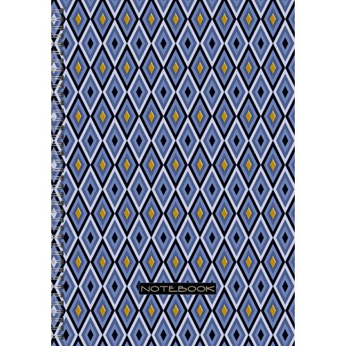 Тетрадь А4 96л кл спир Офисный стиль Геометрический орнамент