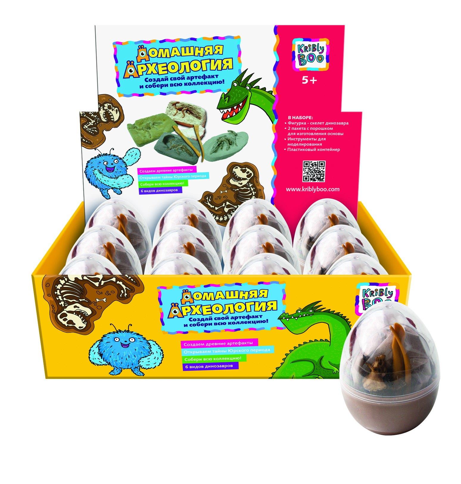 АКЦИЯ19 Игр Набор для исследования Динозавр в яйце ассорт