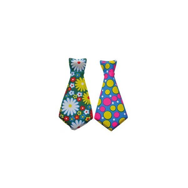 НГ Карнавальный галстук 31см пластик в ассорт