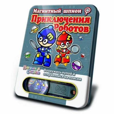 Игра АКЦИЯ19 Игр Магнитная Магнитный шпион. Приключения роботов