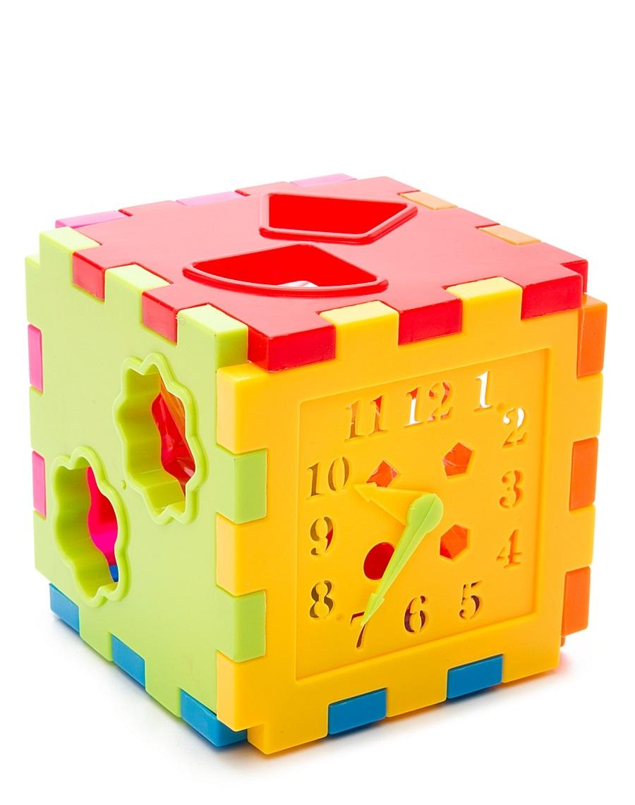 АКЦИЯ19 Игр Развивающая Сортер-Куб