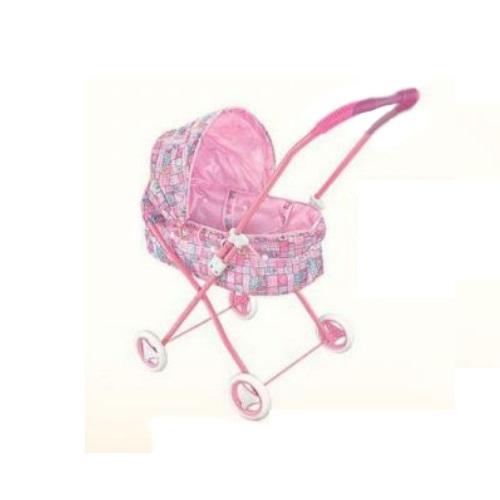 Коляска для кукол Заботливая мама (лежачая)