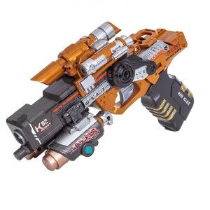 Трансформер Робот-Бластер с мягкими пулями Ferocious WOLF GUN