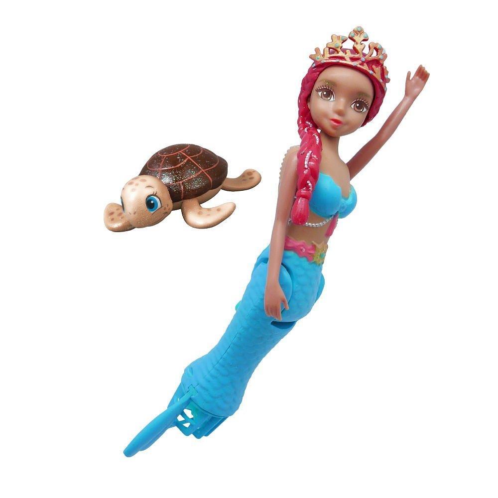 АКЦИЯ19 Игр Интерактивная Танцующая русалочка Амелия, меняющая цвет с череп