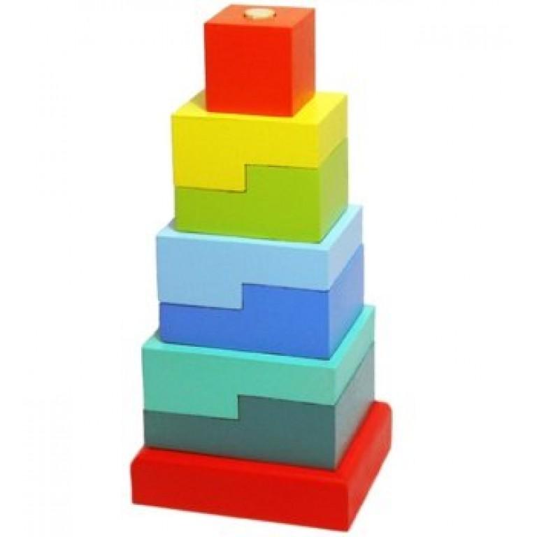 """Мягкий модуль Пирамида """"Ступеньки"""""""