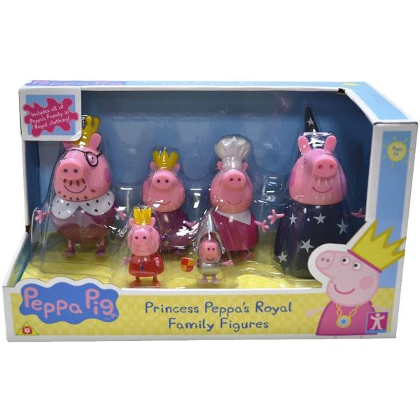 Набор Peppa Pig Королевская семья