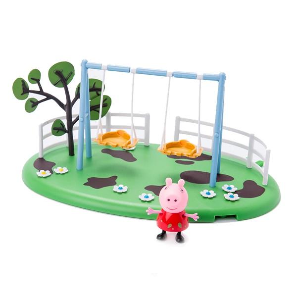АКЦИЯ-20 Игр Набор Peppa Pig Игровая площадка Качели Пеппы