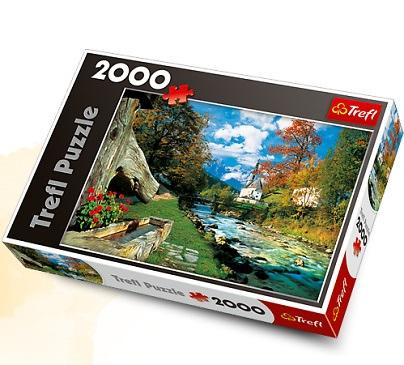 Пазл 2000 Trefl 27061 Баварские Альпы. Германия