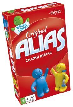 Игра Настольная Alias Original Скажи Иначе: Компактная версия 2
