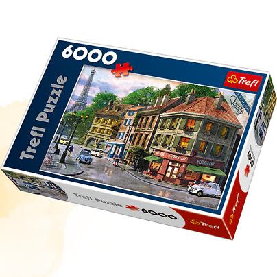 Пазл 6000 Trefl 65001 Улица в Париже