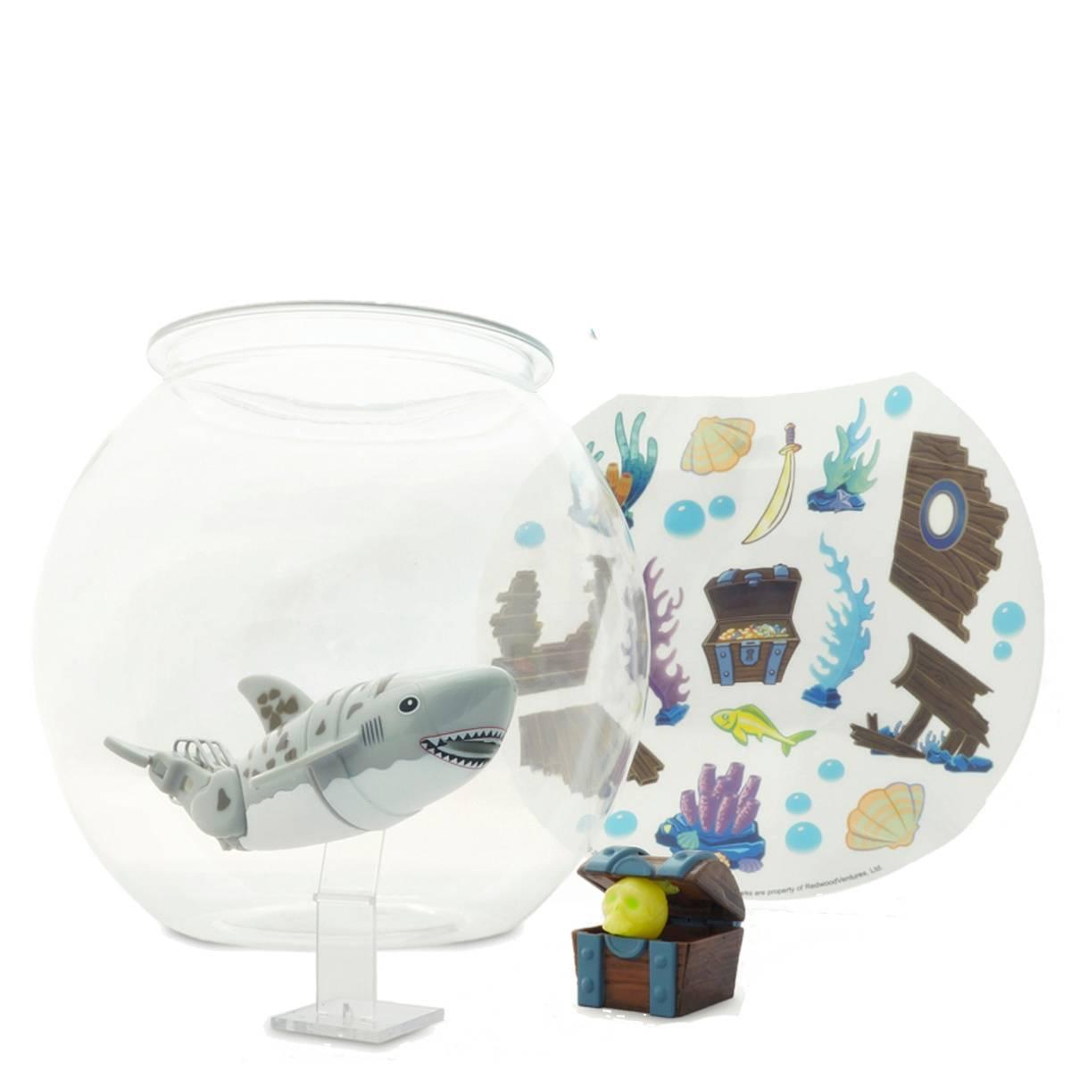 набор Акула-акробат с аквариумом на батар.