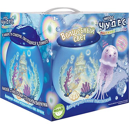 АКЦИЯ19 Игр набор Волшебный свет (аквариум со светодиодами + медуза Лиззи)