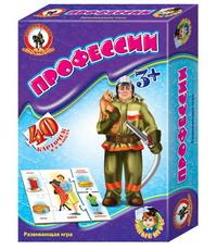 Игра Развивающая Профессии (8 блоков, 40 карточек)