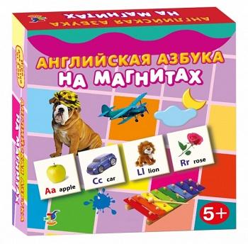 Игра АКЦИЯ19 Игр Магнитная Английская азбука
