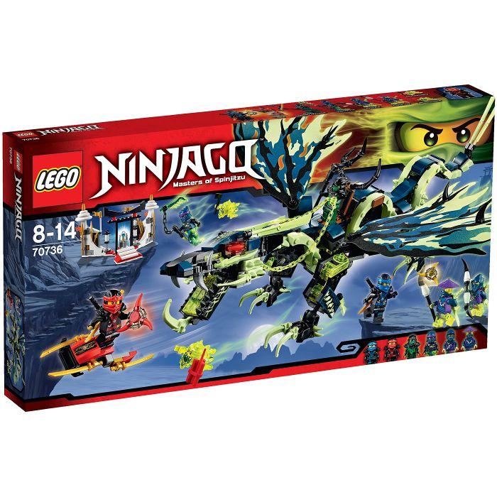 Конструктор Lego Ninjago Атака Дракона Морро пластмас.