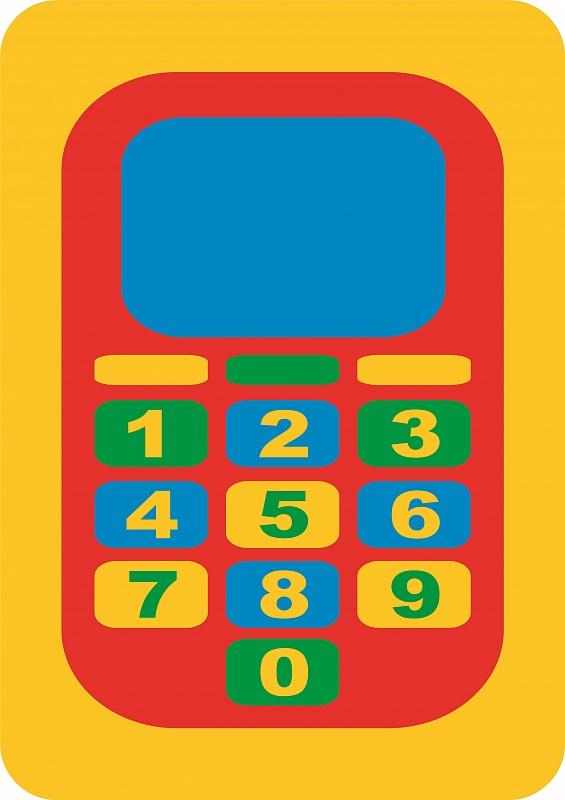 Пазл Мягкий Телефон
