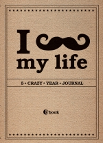 Ежедневник А6 I Love MY LIFE. 5 crazy year journal полудат
