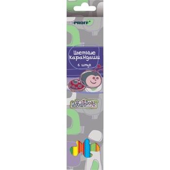 Карандаши цветные 6 цв Proff DoodleBoos