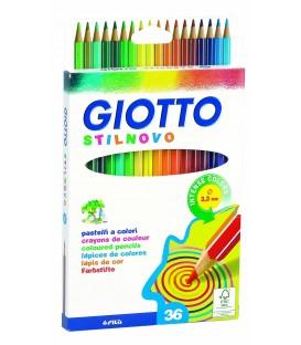 Карандаши цветные 36 цв Giotto STILNOVO BICOLOR двусторонние