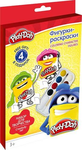 Набор Фигурки-раскраски Play-Doh Coloring character figures