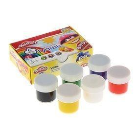 Гуашь 6цв Play Doh