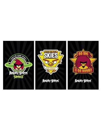 Блокнот А6 40л Angry Birds