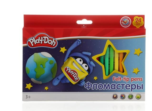 Фломастеры 24 цв Play-Doh к/к