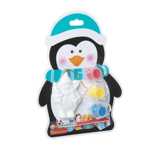 Ёлочные украшения своими руками на карте Пингвин