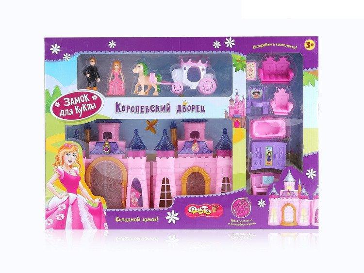 Замок для куклы Королевский дворец (46х12х31,5 см) свет, звук