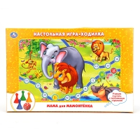 Игра Настольная Приключения мамонтенка (ходилка)