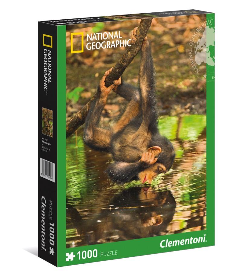 АКЦИЯ19 Пазл 1000 Clementoni 39301 Детеныш Шимпанзе