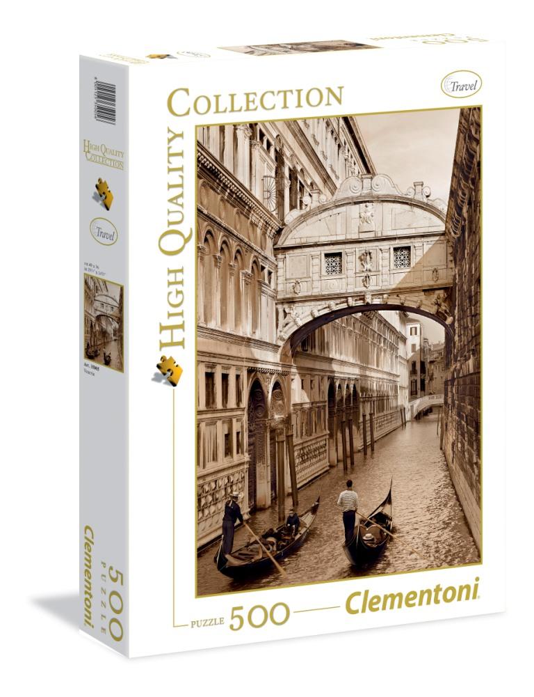 Пазл 500 Clementoni 35005 Монохромный. Венеция