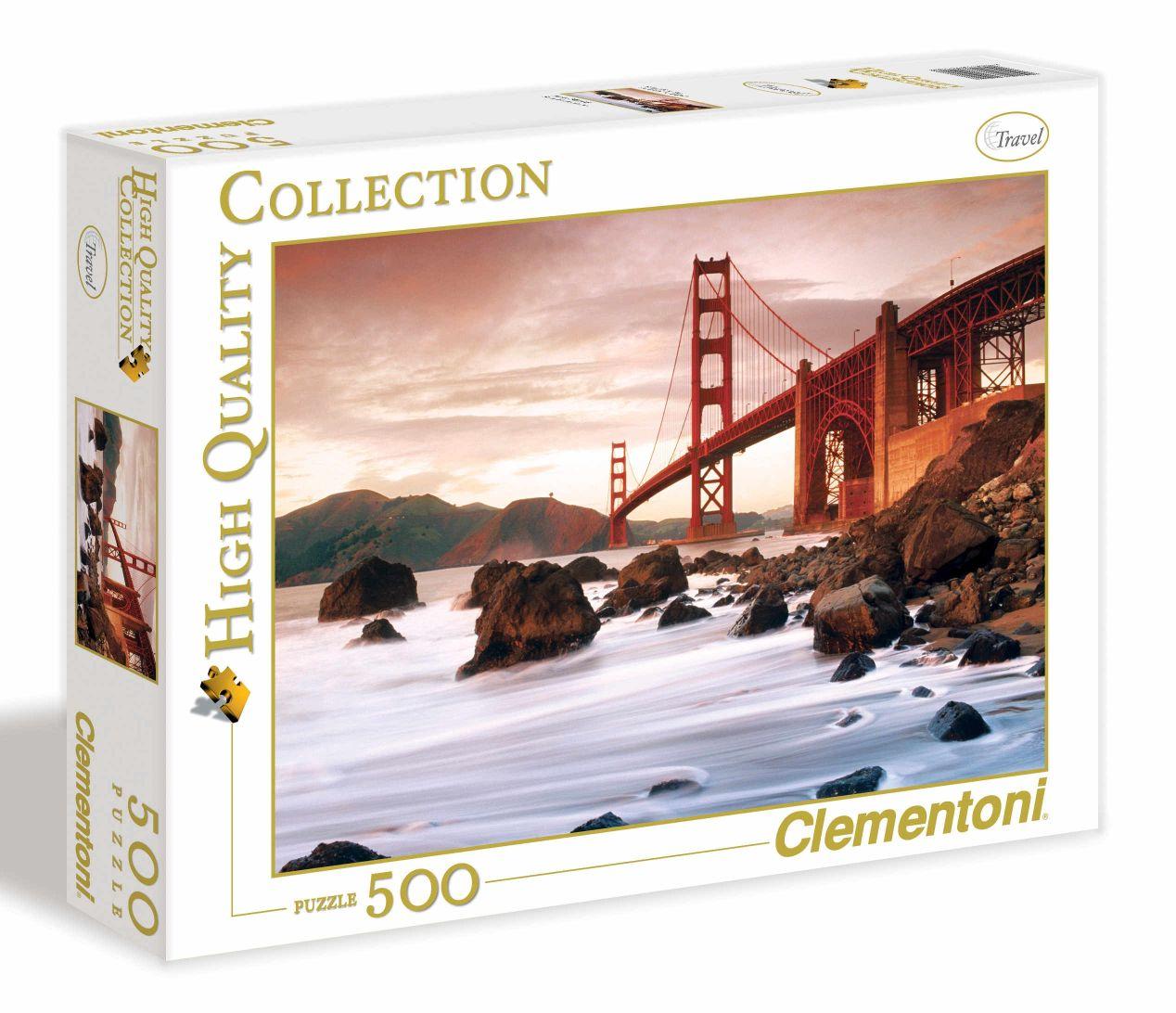 "Пазл 500 Clementoni 30105 Сан-Франциско, Мост ""Золотые ворота"""