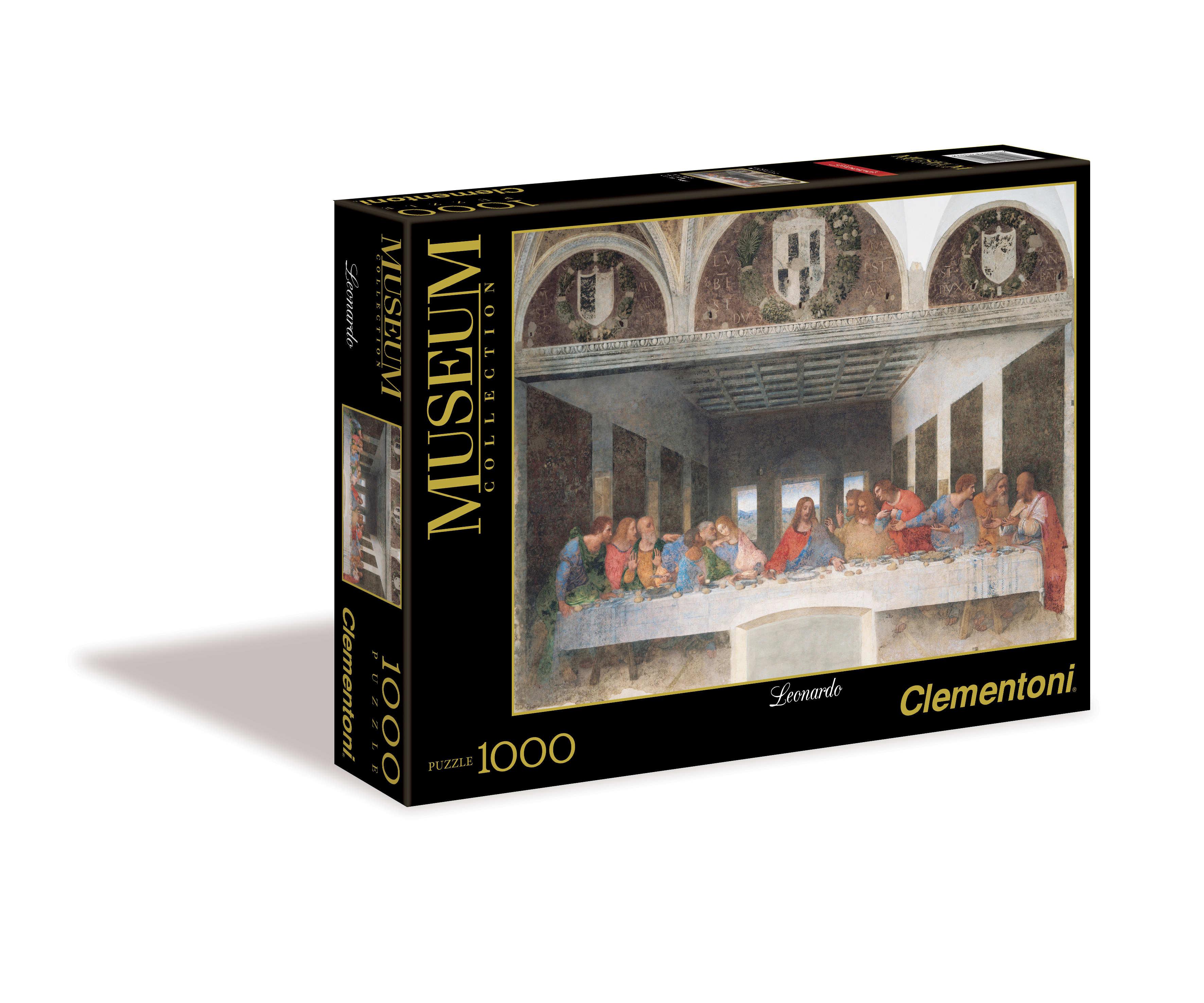 """Пазл 1000 Clementoni 31447 Леонардо да Винчи """"Тайная вечеря"""""""