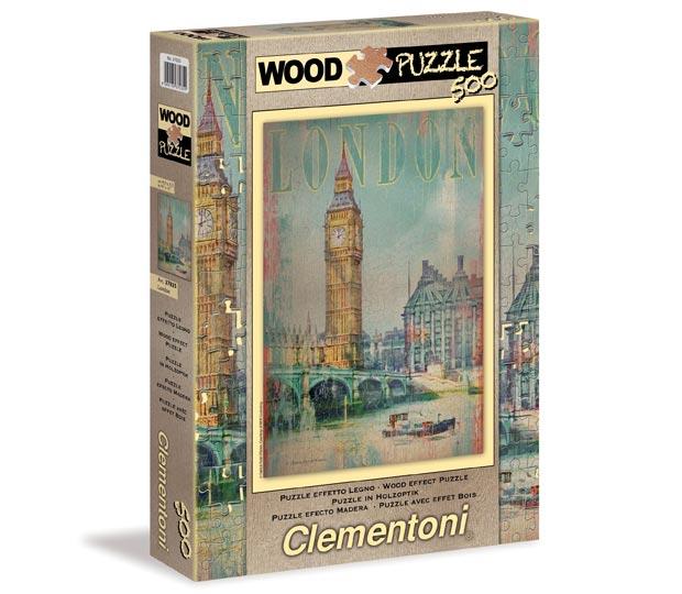 """АКЦИЯ19 Пазл 500 Clementoni 37035 Патрик Рейд О'Брайен """"Лондон"""""""