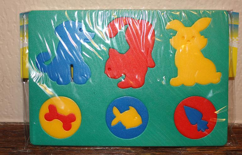 Мозаика-пазлы Животные в рамке (мягкая)