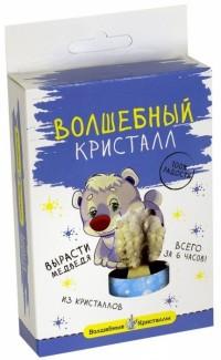 АКЦИЯ19 Игр Набор для экспериментов Выращиваем кристаллы Мишка