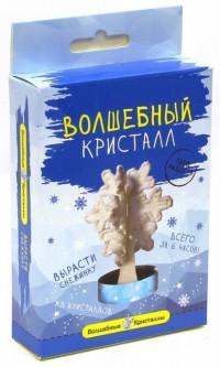 АКЦИЯ19 Игр Набор для экспериментов Выращиваем кристаллы Снежинка