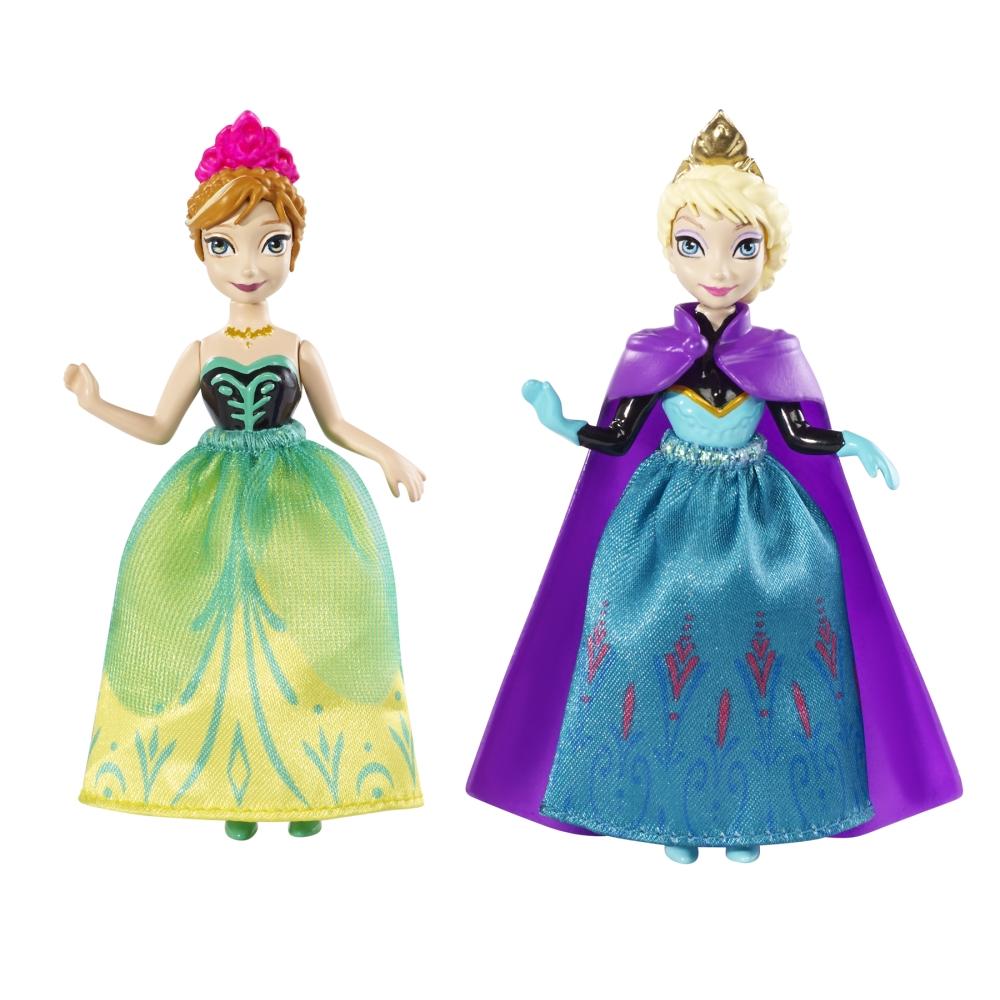 набор Куклы Анна & Эльза пласт.